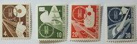 1953 Bund Michel Nr. 167 - 170 Deutsche V...