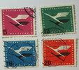 1955 Bund Michel Nr. 205 - 208  Flugdiens...