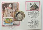 Silbermedallie  BRD Johannes Paul II in de...