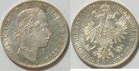 1 Florin 1860 A Österreich  vz - st
