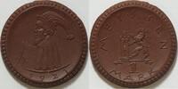 1 Mark 1921 Meissen  st
