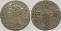 Schilling 1711 England Anne s