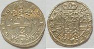 1/2 Batzen 1629 Pfalz Kurlinie Neuburg  vz