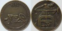 Bronzemed. 1932 Weimar auf die Ausbeutung ...