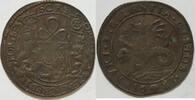 Kupferjeton 1683 Niederlande Spanisch Scha...