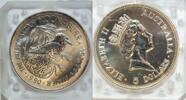 5 $ 1990 Australien Kookaburra st