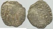 Denar 1342 - 82 Ungarn Ludwig I. 0,5 g. Si...