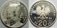 20 Zloty 1996 Polen 400 Jahre Warschau sel...