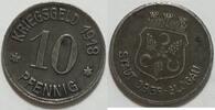 10 Pfennig 1918 Ober-Glogau  ss