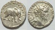 AR Denar 193 - 211 Römische Republik Septi...