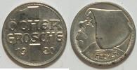1 Öcher Groschen 1920 Aachen  vz