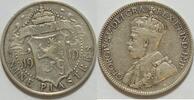 9 Piaster 1919 Zypern  ss