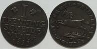 1 Pfennig 1815 Braunschweig Friedrich Wilh...