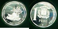 1 Peso 1989 Dominikanische Rep. Schifffahr...