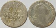 1/6 Taler 1766 Preussen Friedrich II. der ...