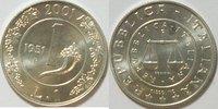 1 Lira 2001 Italien  st gekapselt