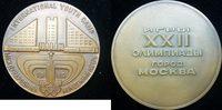 1980 Russland Bronzemed. auf die Olympisc...