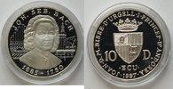 10 Dinar 1997 Andora Johann Sebastian Bach...