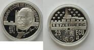 25 ECU 1993 Luxemburg  PP gekapselt