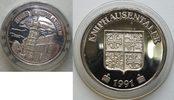 Silb. Med 1991 Deutschland Burg Kniphausen...