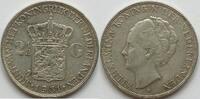 2,5 Gulden 1931 Niederlande  ss