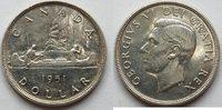1 $ 1951 Kanada  vz