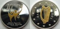 10 Euro 2003 Irland  PP gekapselt teilverg...