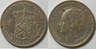 1 Gulden 1931 Niederlande  s-ss