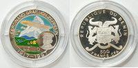 500 Francs 1997 Benin  PP gekapselt