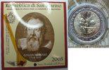2 € 2005 San Marino Galileo Galilei st