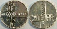 20 Franken 1992 Schweiz Gertrud Kurz vz-st
