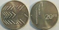 20 Franken 1991 Schweiz 700 Jahre Eidgenos...