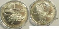 10 Rubel 1979 Russland Olympiade Moskau 1980 Münzstätte Moskau st gekap... 38,00 EUR incl. BTW., plus 8,00 EUR verzending