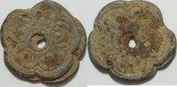 800 - 1450 Thailand Tokens aus Ayutthana ss