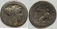 AR Denar 49 - 44 v.  Römische Republik T. ...