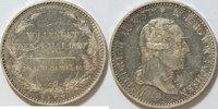 1 Sterbetaler 1827 Sachsen Friedrich Augus...