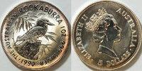 5 $ 1990 Australien 1 Unze Silber 1990 Koo...
