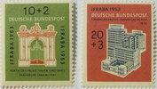 1953 Bund Michel Nr. 171 und 172         ...