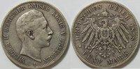 5 Mark 1898 Kaiserreich Preussen 5 Mark Wi...
