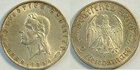 2 Reichsmark 1934 F 3. Reich Schiller ss-vz