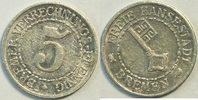 5 Verrechnungspfennig 1923 Deutsches Reich...