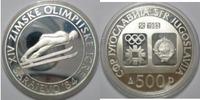 500 Dinar 1982 Jugoslawien Olympiade 1984 ...