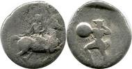 AR Drachm ca 425-350  Griechenland THESSAL...