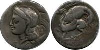 AR Didrachm ca 280 BC. Griechenland Lucani...