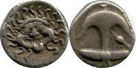 AR Drachm. ca 450-400  Griechenland, Thrac...