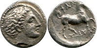 AR Hemidrachm. Mid 4th cen Griechenland TH...