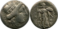 AR Drachm ca 150-100  Griechenland, Thessa...