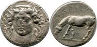 AR Drachm. ca.405-370  Griechenland, Laris...