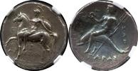 AR Didrachm ca. 272-240 Griechenland Calab...