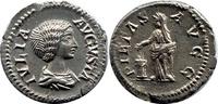 AR Denarius  Römische Kaiserzeit Julia Dom...